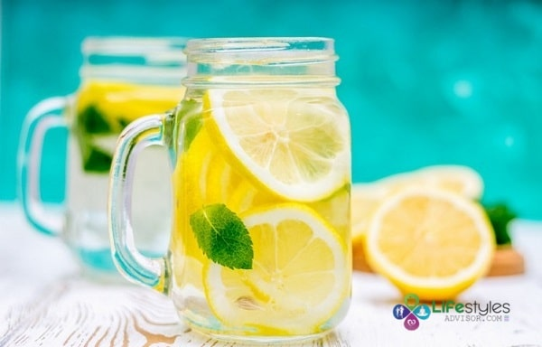 how to burn fat with lemon water